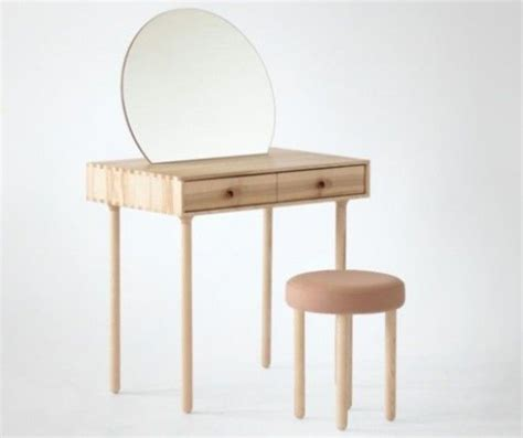 simple minimalist vanity chair with skirt best 25 minimalist dressing table stools ideas on