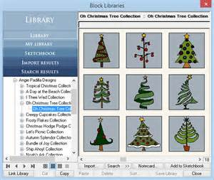 oh christmas tree products the electric quilt company