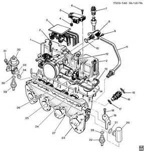 gmc sonoma intake manifold throttle
