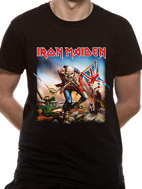 T Shirts Iron Maiden 106 iron maiden trooper t shirt new official licensed