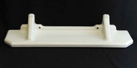 white porcelain bathroom shelf white porcelain bathroom shelf olde good things