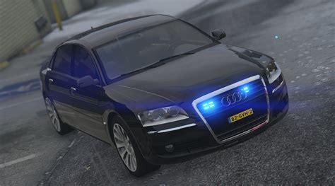 A8w12 Audi by Audi A8 W12 Politie Vehicules Pour Gta V Sur Gta Modding