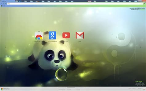 google chrome themes cute purple panda dumpling chrome web store