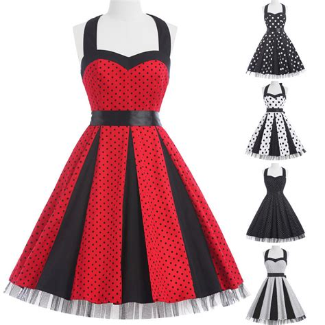 party swing dresses vintage retro 1950 s swing pinup housewife party prom