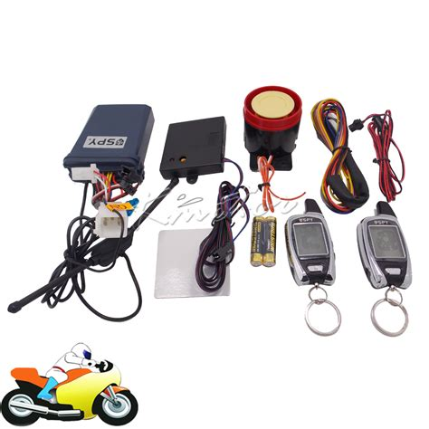 Online Buy Wholesale spy motorcycle alarm from China spy