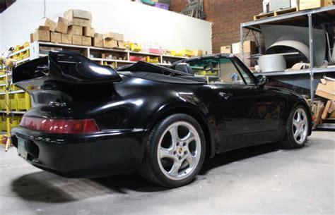 porsche whale tail for sale 1987 porsche 911 cabriolet factory tara kit gt whale s