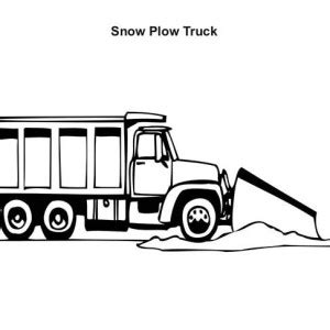 snow plow free coloring pages on art coloring pages