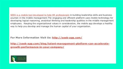 and apple used talent management platform