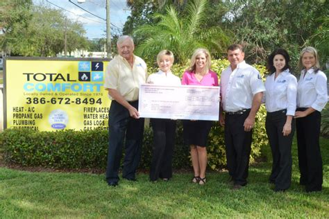 total comfort ormond beach total comfort helps cancer organization ormond beach
