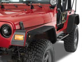 Jeep Tj Fender Warrior Products Flare Kit For 97 06 Jeep 174 Wrangler