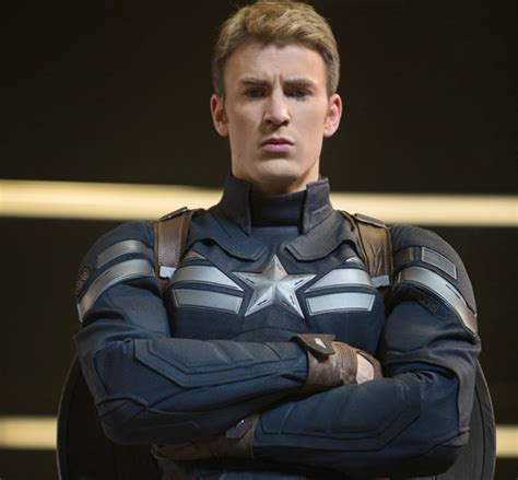 Steve Roger Suit chris on captain america the winter soldier and how he almost on the