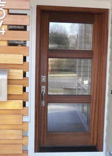 wood  glass entry door modern front doors