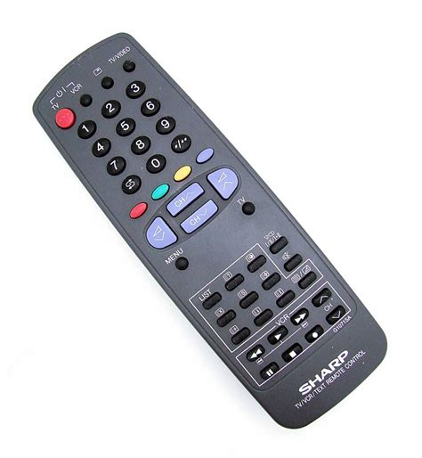 Remote Tv Sharp original sharp remote g1071sa tv vcr text remote