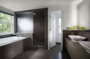 Modern Style Bathrooms Contemporary Bathroom Sterling Carpentry