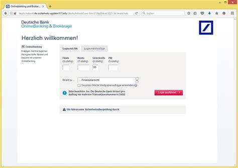 websign deutsche bank deutsche bankengemeinschaft sicherheitscenter deutsche