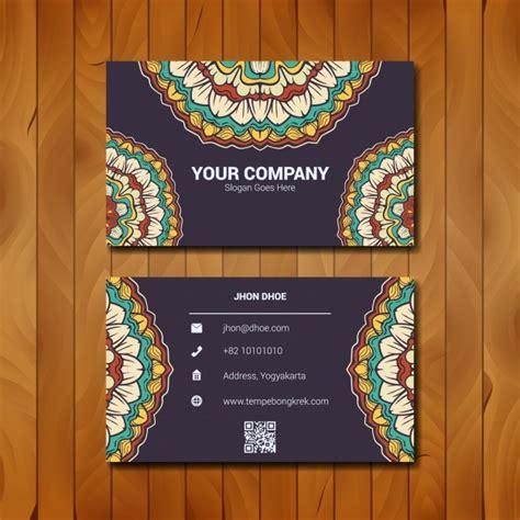 Textile Business Card Design