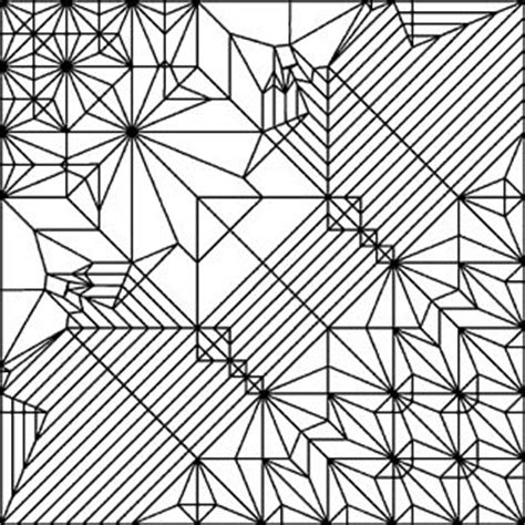 Origami Ancient Diagrams - origami ancient crease pattern 1 design meets