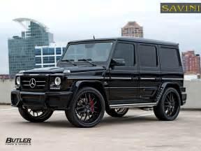 Mercedes G Wagons G Wagen Savini Wheels