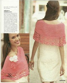 271740 Thalia Lace With Pashmina 1000 images about crochet capas chalinas y ponchos on