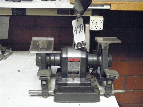 commercial bench grinder sears craftsman commercial 3 4 hp bench grinder m n 397