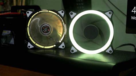 120mm rgb case fan omega gaming 120mm rgb fans youtube