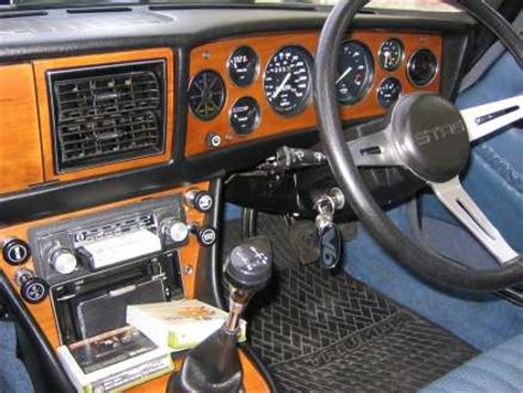 Latest Home Interior gallery triumph stag enthusiasts stag standard dashboard 2