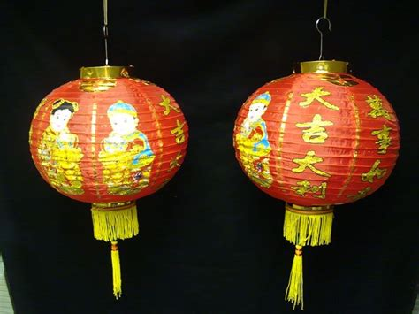 new year lanterns ebay pair of traditional new year paper hanging