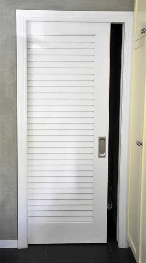 Louvered Sliding Closet Doors Decor Cool White Wooden Louvered Closet Doors Also Grey Wall And Ceiling Lighting For Cool Home