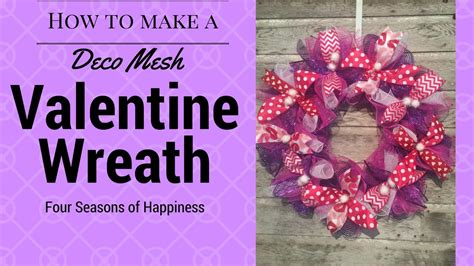 valentines mesh wreath simple valentines wreath afforable deco mesh wreath how