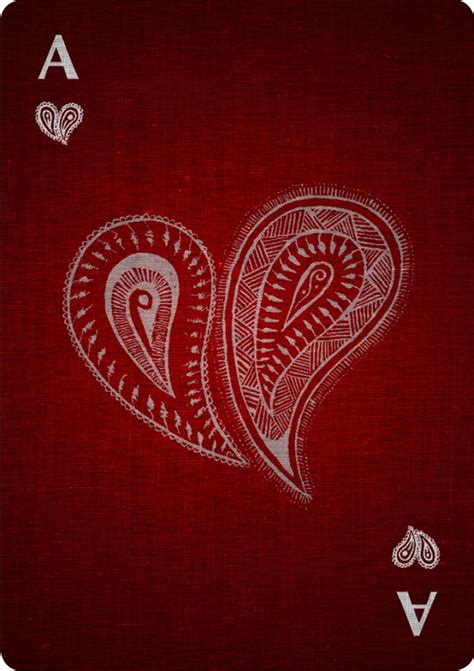 ace of hearts tattoo card cards by mcintyre