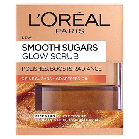 Shoo Loreal Smooth Caring l oreal smooth sugar glow grapeseed and lip
