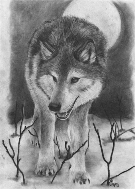 wolves drawings 10 cool wolf drawings for inspiration hative