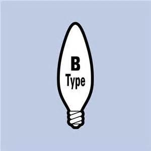 25 ge candelabra base chandelier 40 watt blunt bc b type
