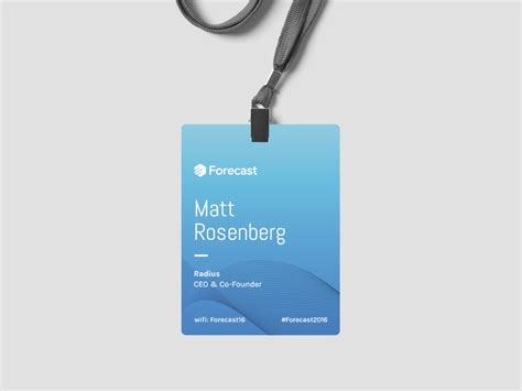 conference id card template conference id card template 4 best professional templates
