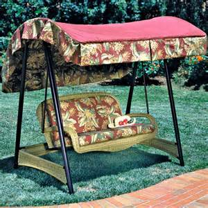 Patio Swing Big Lots Walmart Palm Valley I Swing Replacement Canopy D Pmv Swg