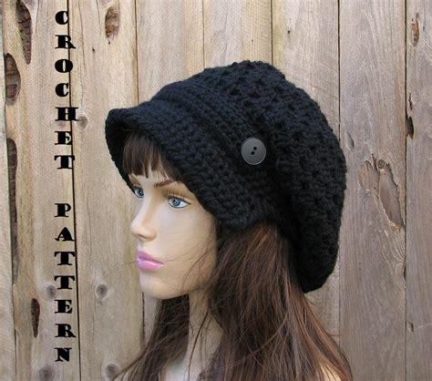 pattern crochet newsboy hat crochet pattern crochet hat newsboy hat crochet