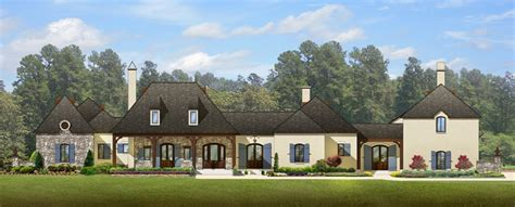 Normandy House Plans by Luxury Normandy House Plan 82003ka