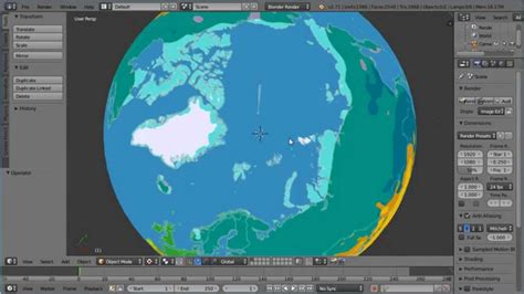 blender tutorial earth blender uv mapping making a globe world earth and