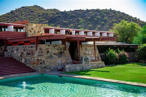 frank lloyd wright taliesin l taliesin west receives national acclaim as travel