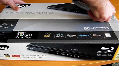 reset samsung blu ray player samsung bd d5700 blu ray player unboxing first view an