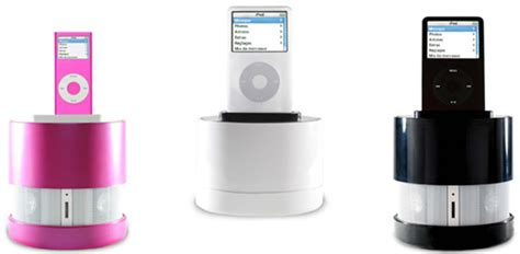 Ces 2007 Sakars Portable Iview Adds 7 To Your Ipod genesis qdos and portable pink ipod speaker lifestyle
