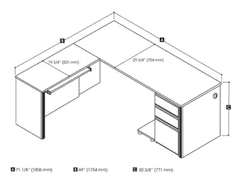 desk sizes average desk dimensions pictures to pin on pinterest