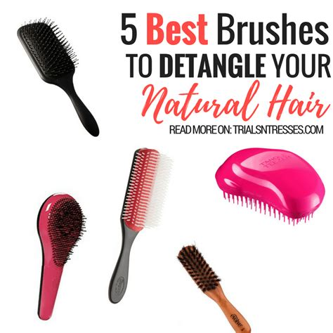 Drying Curly Hair With A Brush 5 best brushes to detangle your hair trials n tresses