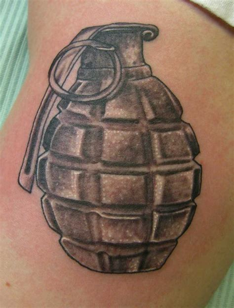 tattoo hand grenade grenade tattoo tattoo collections