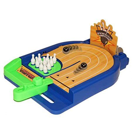 dazzling toys play  table bowling game