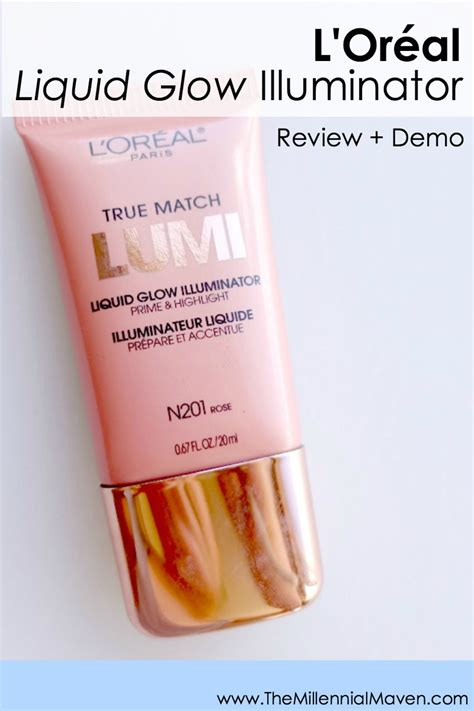 Harga L Oreal Lumi Glow Illuminator l or 233 al lumi liquid glow illuminator gold review