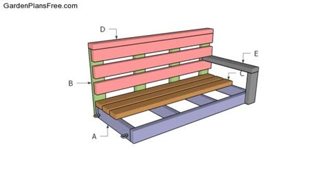 bench swing plans free porch swing plans free garden plans how to build