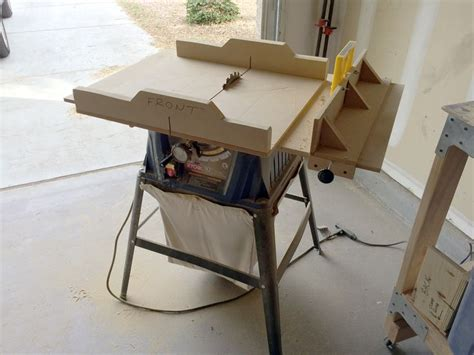 best table saws for woodworking table saw top sled and rip fence woodworking