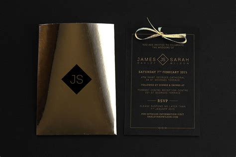 invitation design nyc unique wedding invitations of 2016 so far