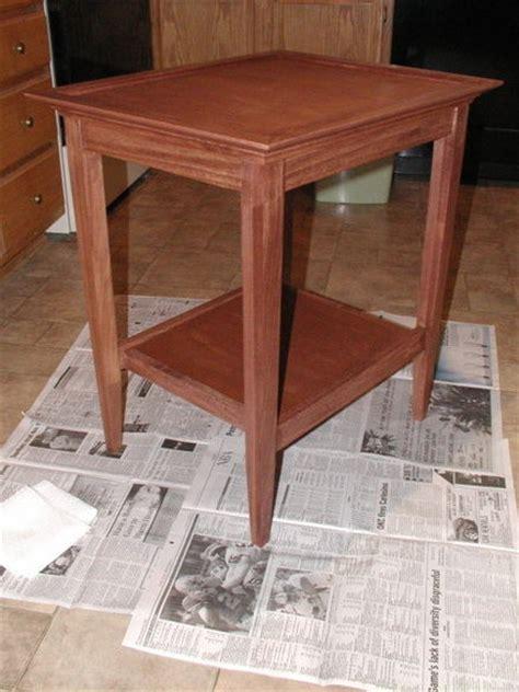 table  wood magazine plan  rwyoung